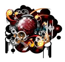 音乐海报背景图片
