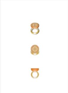 香橙戒指图片