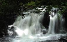 瀑布(实际像素下清晰)图片