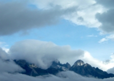 白云 自然景观图片