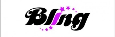 bling 英文字母logo图片