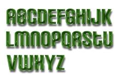 英文艺术字母图片