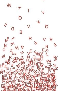 字母组合 海报图片