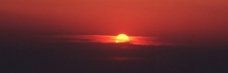 壮观的日出景象图片