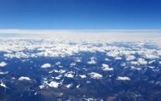 鸟瞰西藏图片