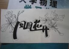 鳳凰花開圖片