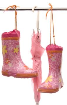 粉色雨具圖片