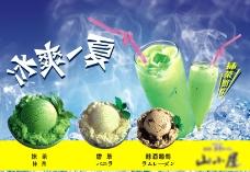 冰淇淋招贴图片