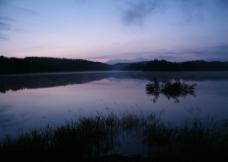美丽湖景图片