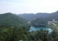 山水湖泊图片