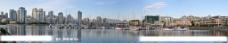 温哥华福溪全景图片