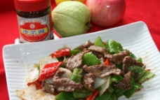 印尼沙茶牛肉图片