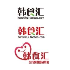 韩国 食品 网站 logo设计
