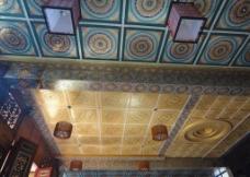 寺庙吊顶图片