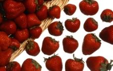 草莓摄影图片