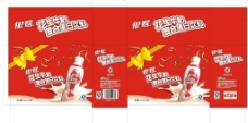 银鹭花生牛奶包装箱图片