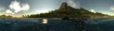 神秘的岛屿图片