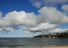 大海 白云图片