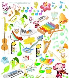 音乐音符乐器图片