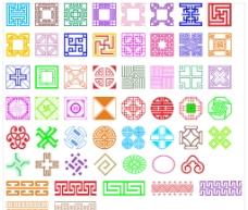 54种古典边框花纹图片