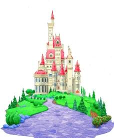 迪士尼公主城堡图片免费下载,迪士尼公主城堡设计素材图片