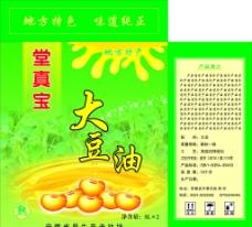 大豆油包装图片
