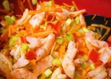 炒虾仁图片