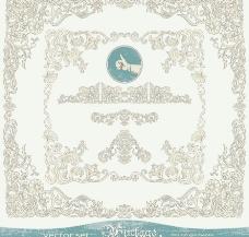 古典欧式花纹边框图片