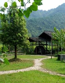 乡村美景图片