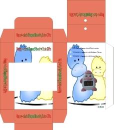 卡通形象彩盒包装图片