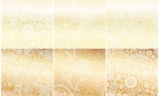 欧式花纹金色花纹边框 (含eps ai)图片