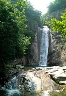 神龙谷 瀑布图片
