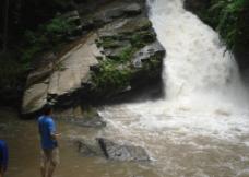 泰国瀑布图片