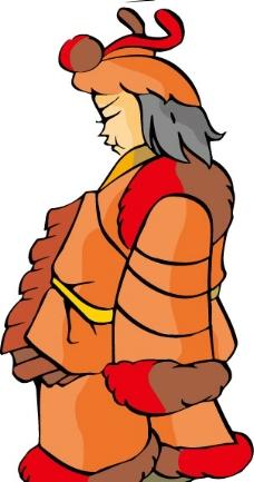 漫画人物 古代人物图片