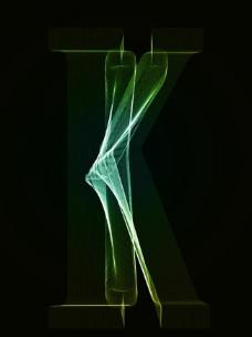 字母k设计图片