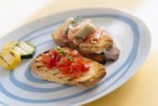 面包西红柿图片