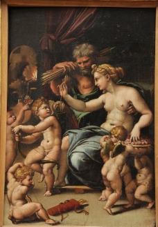 卢浮宫油画图片