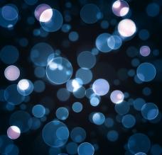 抽象虚化灯影图片