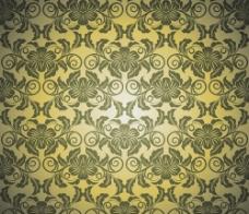 古典花纹背景图片