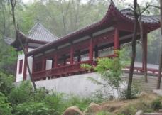 中式回廊图片