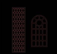 门窗雕刻图片