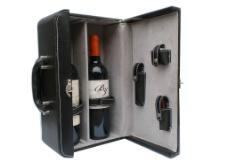 红酒 红酒皮箱图片