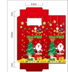 圣诞节包装盒图片