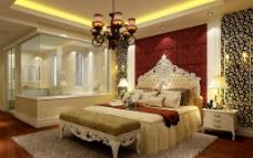欧式卧室卫生间图片