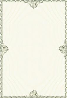 欧式花纹边框相框图片