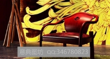 中式椅子图片