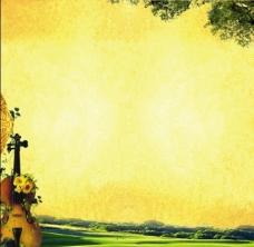 黄色背景图