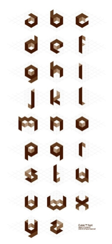 個性字母數字制作圖片