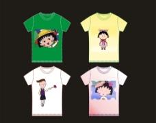 卡通T恤图片
