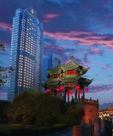 重庆香格里拉建筑图片